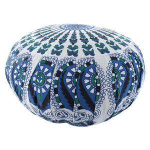 coussin-meditation-zen-bleu-vert