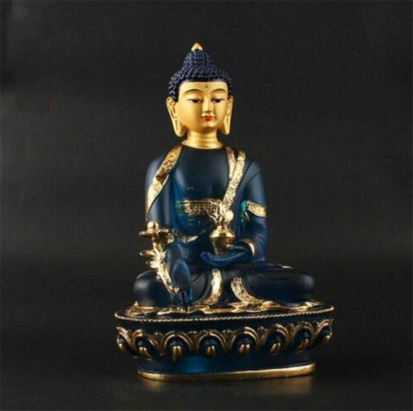 statue-bouddhiste-bouddha-bleu-assis-de-medecine-cuivre-bleu-meditation