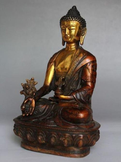 statuette-bouddha-bodhisattva-tibetaine-cuivre-bronze
