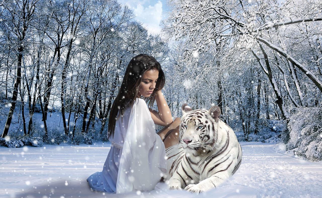 femme-paysage-tigre
